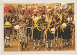 C.P. - PHOTO - SÉNÉGAL - XXXV-B1 - ETIOLO - DANSES RITUELLES BASSARIES - - Sénégal