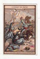 Chromo   AIGUEBELLE   Combat De Patay 1870 - Aiguebelle