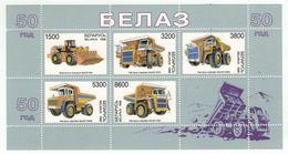 Bielorussie 1998 // Engins De Travaux Publics, Bloc-feuillet Neuf** No. 20 Y&T MNH - Verkehr & Transport