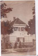 Seltene ALTE  Originalfoto- AK   GRÄFELFING / Bay.  - Privates Wohnhaus -  Gelaufen 1913 Ca. - Graefelfing
