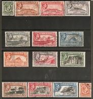 GIBRALTAR 1938 - 1951 SET SG 121/131 FINE USED MINIMUM Cat £100 - Gibraltar