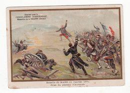 Chromo   AIGUEBELLE   Bataille Du Mans 1871 - Aiguebelle
