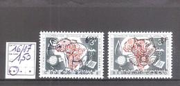 Sud-Kasaï  N° 16/17 ** MNH  Cote COB : 1,50 € - Sud-Kasaï
