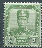 Johore  -  Yvert N° 87 *   - Bce 17501 - Johore