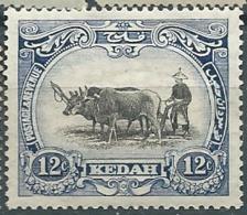 Kedah  -  Yvert N°  33 *       - Bce 17514 - Kedah