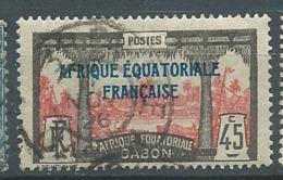 Gabon   -  Yvert N°  101  Oblitéré    - Bce 17539 - Gabon (1886-1936)