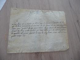 Quittance 5 Sols Fiscal  Sur Velin 1686 Bernard De La Chattetière Département De La Somme - Manuscrits