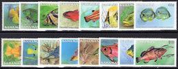 Bahamas 1986-90 Fish No Imprint Unmounted Mint. - Bahamas (1973-...)