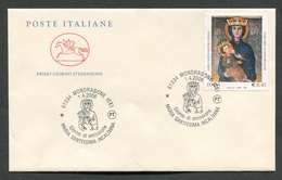 FDC ITALIA 2006 - CAVALLINO - MARIA SANTISSIMA INCALDANA - MONDRAGONE ( CE ) - 362 - 6. 1946-.. Republik