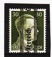LKA596 ÖSTERREICH 1945 Michl 687 NACH UNTEN VERSCHOBENER AUFDRUCK Postfrisch SIEHE ABBILDUNG - 1945-60 Ungebraucht