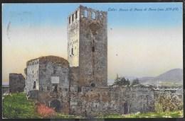 ROCCA DI PONTE DI TORRE - ESTE - FORMATO PICCOLO COLORATA - VIAGGIATA DA ESTE 1939 - Castelli