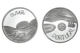 "PORTUGAL 5 Euro  2.019  2019  ""O MAR - EL MAR - THE SEA""  CU-NI  SC/UNC   T-DL-12.276 - Portugal"