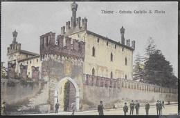 CASTELLO S. MARIA - THIENE FORMATO PICCOLO COLORATA -ANIMATA - Castelli