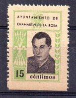 Viñeta  Ayuntamiento De Chamartin De La Rosa 15cts - Verschlussmarken Bürgerkrieg