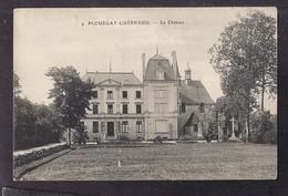 CPA 29 - PLOUËGAT GUERRAUD ?? GUERAND - Le Château - TB PLAN EDIFICE Et Sa Façade - Other Municipalities
