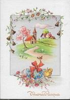 BUONA PASQUA - ALLEGORIA - EDIZIONE CECAMI # 7284 - VIAGGIATA - Pasqua