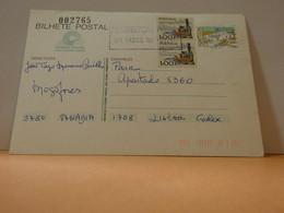 Postal Stationery - Portugal - Coimbra 1988 - Registered - Postwaardestukken