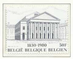 NB - [151965][1983] Belgique 1980, Du Bloc 55, Façade Du Théâtre Royal De La Monnaie, SNC - Theatre