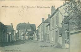 89 -  AVROLLES - ROUTE NATIONALE N°5 PARIS MARSEILLE - Autres Communes