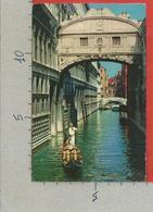 CARTOLINA VG ITALIA - VENEZIA - Ponte Dei Sospiri - 9 X 14 - ANN. 195? Per La FRANCIA - Venezia
