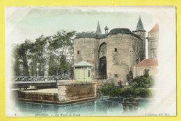 * Brugge - Bruges (West Vlaanderen) * (Collections ND Phot, Nr 8 - KLEUR) Porte De Gand, Gentse Poort, Canal, Quai, TOP - Brugge