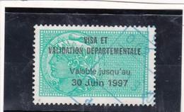 T.F. Permis De Chasse N°210 - Fiscaux