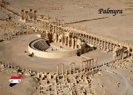 Syria Palmyra Aerial View UNESCO New Postcard Syrien AK - Syrien