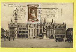 * Brugge - Bruges (West Vlaanderen) * (Nels, Edit Hosten Soeurs) Hotel Du Gouvernement Provincial, Timbre Croix Rouge - Brugge