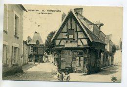41 ROMORANTIN Le Carroir Doré Fillettes Devant Vieille Maison Affiches Publicités 1913 Timb  /D15-2017 - Romorantin