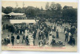 49 SAUMUR Le Pari Mutuel Paddock Courses Chevaux De VARRAINS 1910  /D15-2017 - Saumur