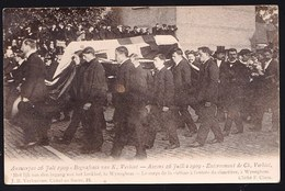 Carte Photo - FOTOKAART Anvers Antwerpen : Begrafenis Van Karel Verbist ( Coureur Cycliste Renner Wielrenner ) 1909 - Antwerpen