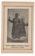 Santino Antico Santi Martiri Conone E Figlio Da Acerra - Napoli - Religione & Esoterismo