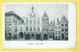* Brugge - Bruges (West Vlaanderen) * (VED, Nr 315) Poids Public, Façade, Old, Très Vieille Carte, Unique, Rare - Brugge