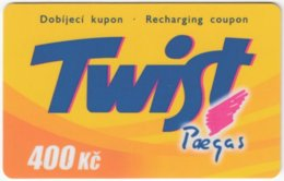 CZECH REP. D-289 Prepaid Paegas - Used - Tchéquie