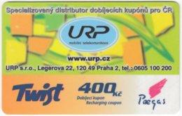 CZECH REP. D-294 Prepaid Paegas - Used - Tchéquie