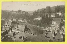 * Bouillon (Luxembourg - La Wallonie) * (Henri Georges, Nr 8) Vue Vers Le Chateau, Canal, Quai, Panorama, Rare - Bouillon