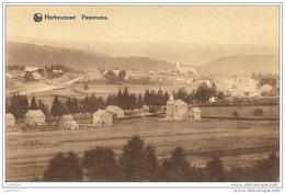 HERBEUMONT ..-- Panorama . 1932 Vers ARLON ( Melle Clairette HULIN ) . Voir Verso . - Herbeumont