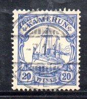 APR474 - KAMERUN CAMERUN 1900 , Yvert N. 10 Usato  (2380A). - Colonia: Camerun
