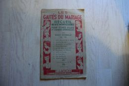 Livret - Les Gaietés Du Mariage Recueil De Dix Monologues Par Gaston Bordeaux - Page Du Milieu Se Détache - - Scores & Partitions