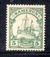 APR476 - KAMERUN CAMERUN 1900 , Yvert N. 8 Nuovo.Linguella Di Carta  (2380A). - Colonia: Camerun