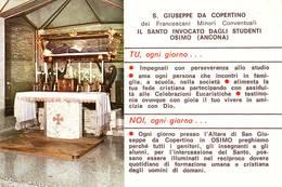 Santino Preghiera A S.giuseppe Da Copertino - Devotion Images