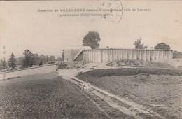 VILLENEUVE Reservoir Destiné à Alimenter La Ville De Soissons 88L - Autres Communes