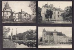 LOT 20 CPA 36 - 2 CPSM - VILLAGES Plusieurs Châteaux En TB PLAN + 2 CPA ISSOUDUN + TB CPSM Hôtels Restaurants - France