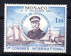 Sello  Nº 702  Monaco - Barcos