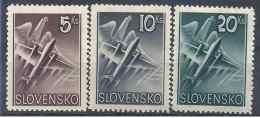 1940 SLOVAQUIE PA 7-9** Aigle, Avion - Slovaquie