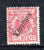 APR478 - KAROLINEN CAROLINE 1899 , Yvert N. 3 Usato  (2380A). - Colonia: Isole Caroline
