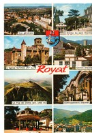 CPM, (63) ROYAT, Multivues, Jamais Voyagée, Vue Générale, Source Tache Au Verso - Royat