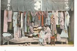 CPA , Japon -Serie 1007, Seoond Hand -Cloth Store,  Ed. Th. E.L. - Japon
