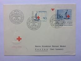 SWITZERLAND 1963 Red Cross FDC Cover - Switzerland