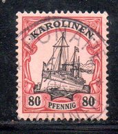 APR481 - KAROLINEN CAROLINE 1900 , Yvert N. 15 Usato  (2380A). - Colonia: Isole Caroline